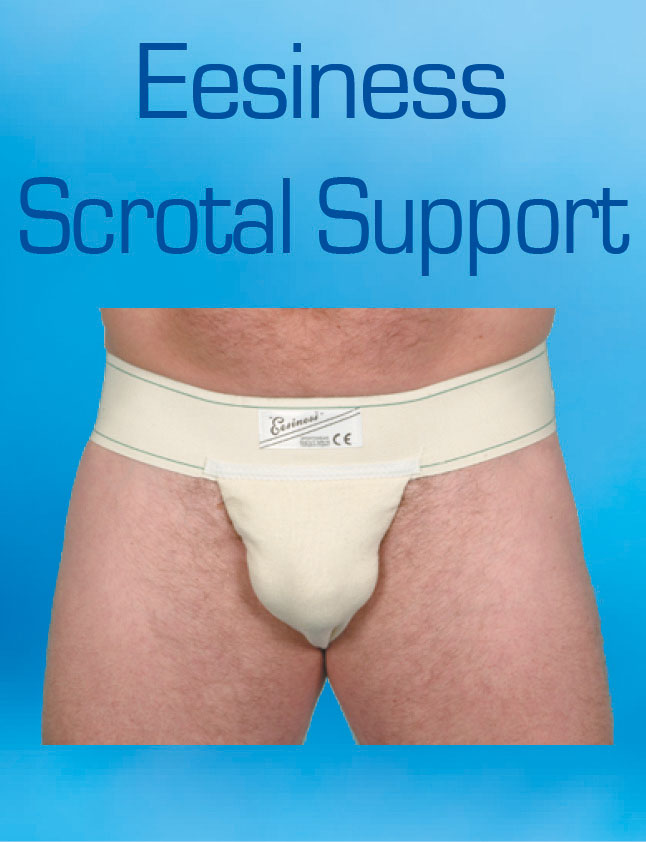 Eesiness scrotal support