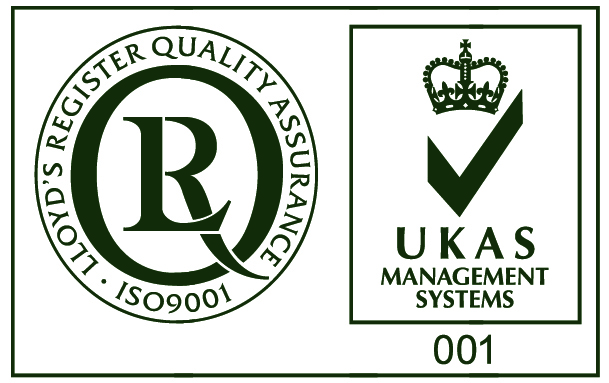 ISO 9001 and UKAS Mark
