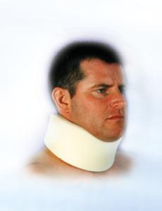 firm plastic collar